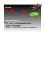 Gratis Ebook Demoproduktion